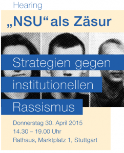 Hearing Institutioneller Rassismus