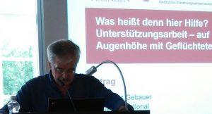 Foto vom Vortrag Thomas Gebauer