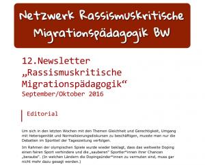 Cover Newsletter 12