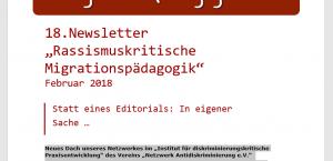 Cover Newsletter 18