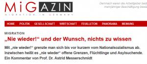 Screenshot migazin.de